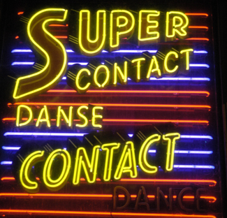Contact Improvisation News Archives #0: Super Contact