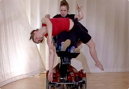 Contact Improvisation in a wheelchair